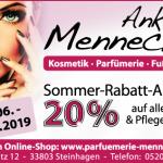 Parfümerie Anke Mennecke Sommerrabatt