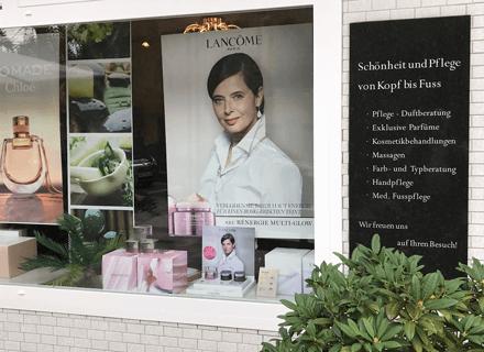 Parfümerie Anke Mennecke Schaufenster
