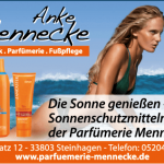 Parfümerie Mennecke Sonnencremes und After-Sun-Produkte