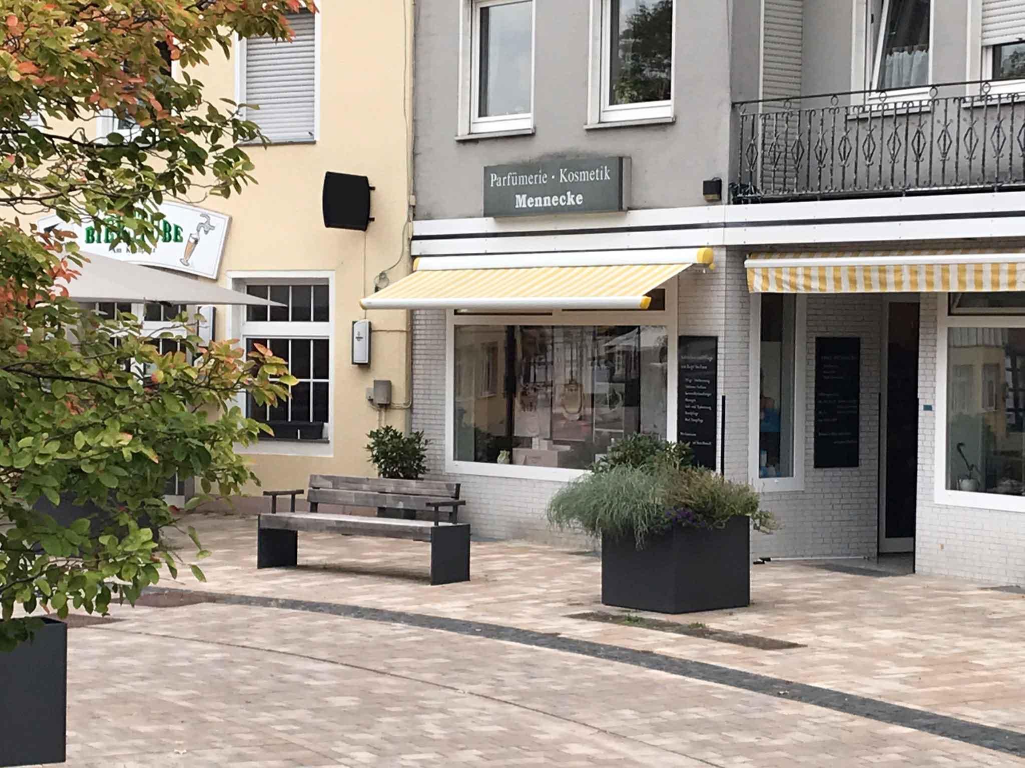 Parfümerie Anke Mennecke Das Geschäft Schaufenster Kirchplatz 12 Steinhagen